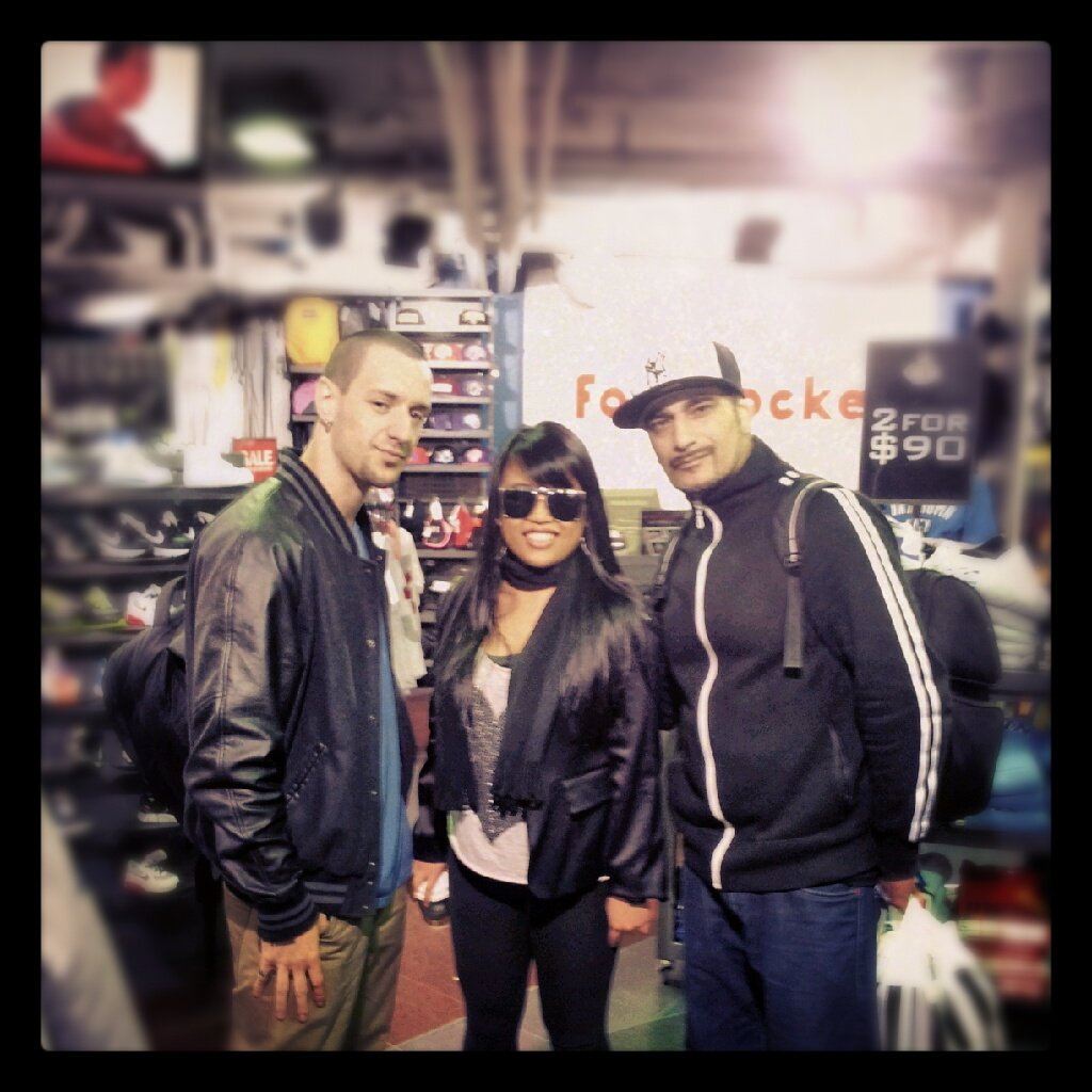Bboy Ynot, Trina and Mr Wiggles in Sydney