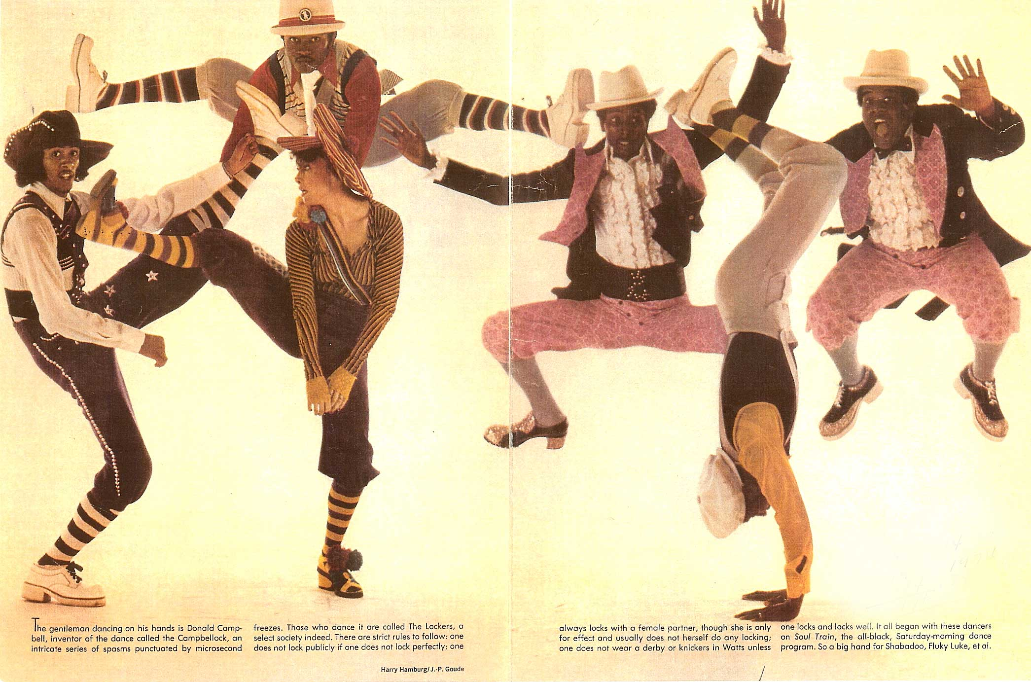 "The Lockers, Campbell's own dance group that he formed with the legendary Toni Basil, Greg ""Campbell Junior"" Pope and others"